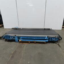 104 L Slider Bed 36 W Belt Conveyor 34fpm 208 230460v 3ph