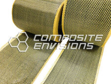 Carbon Fiber Made with Kevlar Fabric Plain Weave 5oz TAPE 6""