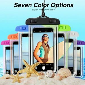 Waterproof Underwater Phone Case Dry Bags Pouch UK All Smartphones New Universal