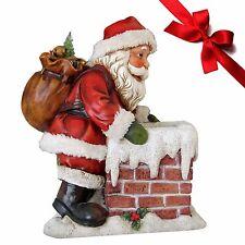 Weihnachtsmann Smoky Dekofiguren Weihnachtsdekoration Nikolausfiguren Dekoration