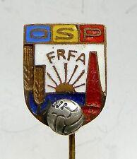f990 Romania First Communist Football Soccer Federation 1950s Rare socialist Pin