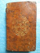 LES LYRIQUES SACRES 1774 aux armes de l'école militaire de Sorèze dans le Tarn.