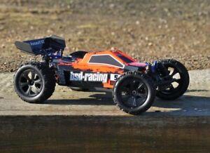 BSD Racing Prime Assault RC 1/10 Scale 4WD Ideal First RC Buggy Inc Batt & Chg