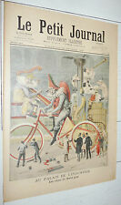 PETIT JOURNAL 1897 CHAR BOEUF GRAS / CRETE ARMEE GRECE TURQUIE / INONDATIONS