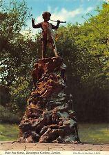 BR91213 peter pan statue kensington gardens london  uk