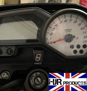 LED Gear Indicator for Yamaha EFI Mororcycles inc YZF-R1 R6 FZ1 FZ6 FZ6R  Xjr400