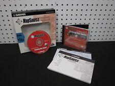 GARMIN MapSource Fishing Hot Spots CD-ROM Version 4.00