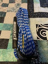 Proline Deluxe Tube Tow Rope with Float - Blue/White - New