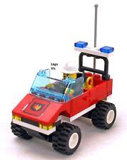 Lego 6525 City Rescue Fire Town Pompier  complet à 100 % + Notice de 1995 -CN169