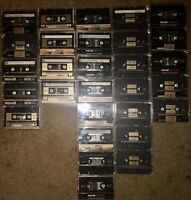 LOT OF 29 VINTAGE MAXELL XL II-S 90 100 60 CASSETTE TAPES JAPAN SOLD AS BLANKS