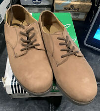 Willits Leather Uniform Shoes Solid Brown Saddle Lace Up Men's Youth Size 6.5