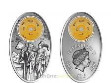 10 $ Dollar Apocalypse III Almagest Fiji Silber Silver 2012 Glas Inlay