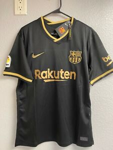 New Lionel Messi jersey FC Barcelona home 2020-21 away Mens Large barca