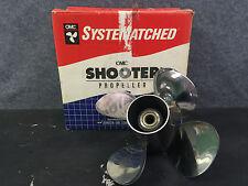 New OEM Johnson & Evinrude Shooter 12 1/2 x 23 Stainless Propeller # 175423