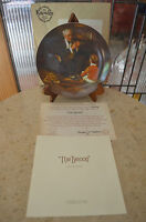 The Tycoon- Rockwell Society of America Collectible Plate