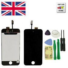 New Replacement LCD Touch Screen Digitizer Assembly For iPod touch 4G Black
