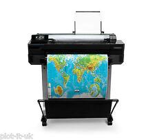 HP Designjet T520 A1 Plotter CQ890A Wide Format Printer FREE PAPER ROLL inc VAT