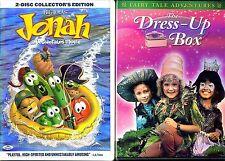 Jonah - Veggie Tales Movie (DVD) & The Dress-Up Box (DVD) - Children & Family