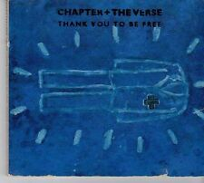 (DX615) Chapter & The Verse, Thank You To Be Free - 1992 CD