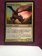 Broodmate Dragon - Walmart Promo  VO -  MTG Magic (EX)