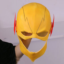 The Flash Reverse-Flash Harrison Latex Mask Helmet Full Face Cos Prop Halloween