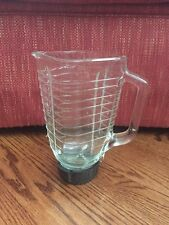 Vintage Oster Regency Glass Blender Replacement Pitcher Ribbed 1.25 L 5 cup
