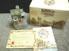 Lilliput Lane Fisherman's Cottage English Collection S W #037 Nib & Deeds 1985