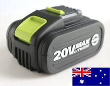 WORX 20V LITHIUM 4.0AH WA3553 Powershare Battery Platform Li-ion fuel gauge