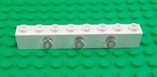 Lego White 1x4x1 Light Brick 3 Prism Space Block Untested Rare x 1 piece