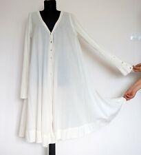 Rabens Saloner Cream Cotton Boho Dress, Size:S (M?)