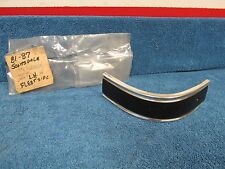 1981-87 CHEVY SCOTTSDALE TRUCK  LH  REAR BED CORNER TRIM   NOS 1215
