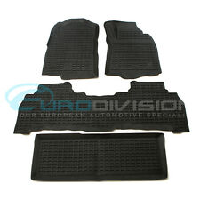 Toyota Land Cruiser 200 Series 2007-2011 Rubber Interior Floor Mats