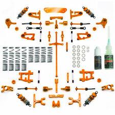 Yeah Racing Aluminium Conversion Kit Ultimate Ver Orange Tamiya TT-01/ TT-01E