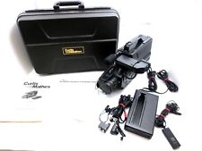Curtis Mathes VHS MOVIE BV800 BV 800 Camcorder + CASE + more (NO BATTERY) WORKS