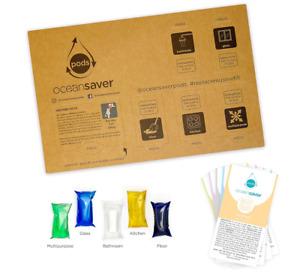 5pk PODS by Ocean Saver | Refills and Reuses 5 x 750ml Bottles