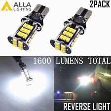 Alla Lighting 2pc 921 30-LED Back Up Reverse Light Bulb Backup Lamps,Xenon White