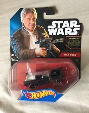 Star Wars Hot Wheels Cars Han Solo The Force Awakens Corellian Hot Rod Disney BN