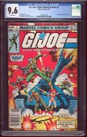 GI Joe # 1 Marvel 1982 CGC-9.6 NM+ 1st Snake Eyes Cobra Commander Hama Trimpe