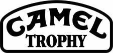 Motorsport Car Motorbike Exterior Vinyl Sticker Camel Trophy Rally Car Decals x2