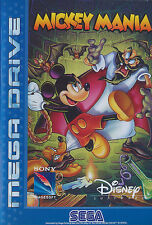 # Mickey Mania (Disney) - Sega Mega Drive/MD juego-Top #
