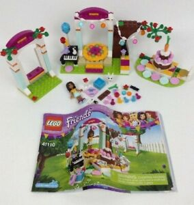 Lego Friends Birthday Party Building Set 41110 99.9% Complete with Instructions