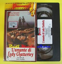 film VHS cartonata L'AMANTE DI LADY CHATTERLEY just jaeckin PANORAMA(F39)*no dvd