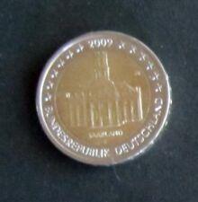 """2 Euro Sonder-Münze """"F"""" Saarland Prägejahr 2009 aus Umlauf"""