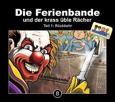 DIE FERIENBANDE - DIE FERIENBANDE UND DER KRASS ÜBLE RÄCHER FOLGE 8  CD NEU