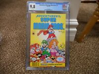 Adventures of the Super Mario Bros 4 cgc 9.8 Valiant 1991 Luigi Nintendo System