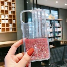 For Various Phone Model Dynamic Liquid Glitter Clear Soft Rubber Case Cover