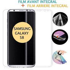 Film protection entier total intégral pour Samsung Galaxy S8  + 1 film arrière