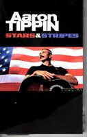 Aaron Tippin Stars & Stripes 2002 Cassette Tape Album Classic Country Folk Rock