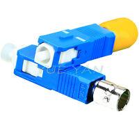 ST Female to SC Male Singlemode Simplex Hybrid Adapter Converter