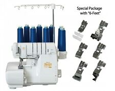 "Babylock [Serger Machine + 6 Feet Set]  ""ALL-in-ONE"" Cover & Over Lock 8-thread"
